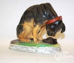 "Скульптура ""Пёс и черепаха"""